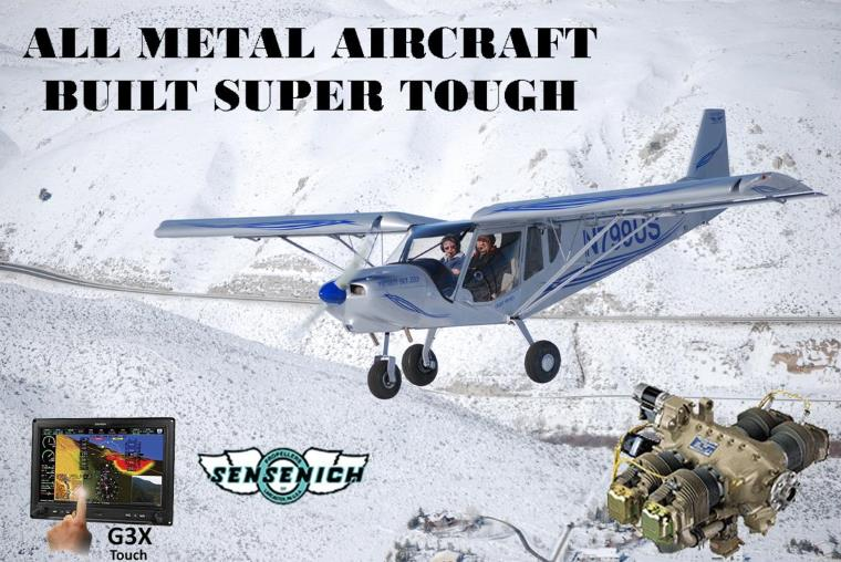 STOL CH 750 SLSA - Special Light Sport Aircraft from